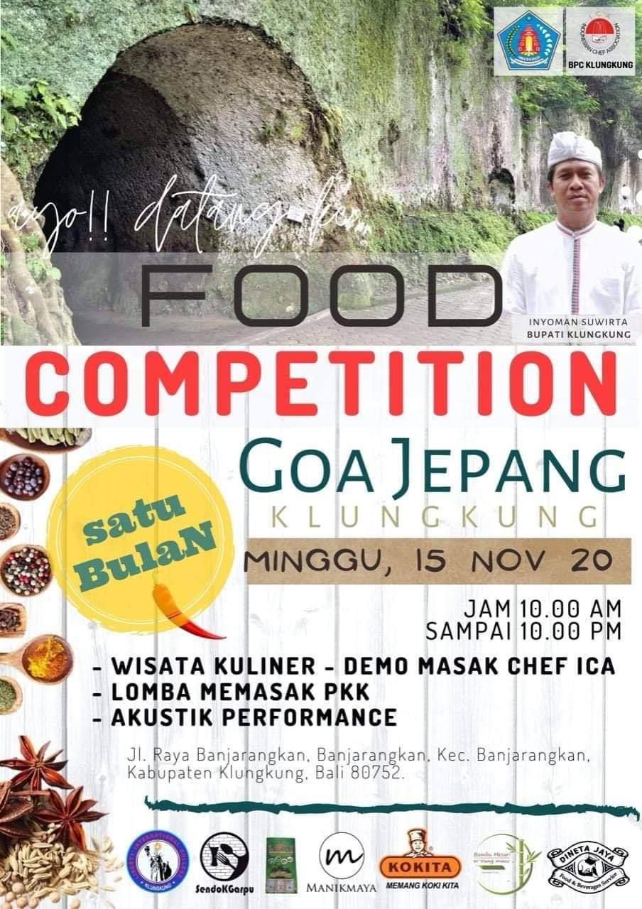 FOOD COMPETITION GOA JEPANG KLUNGKUNG
