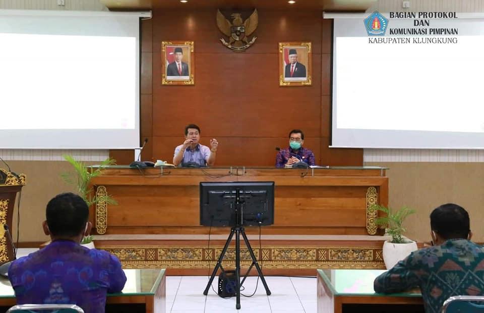 Pembangunan Infrastruktur Pendukung KSPN Nusa Penida