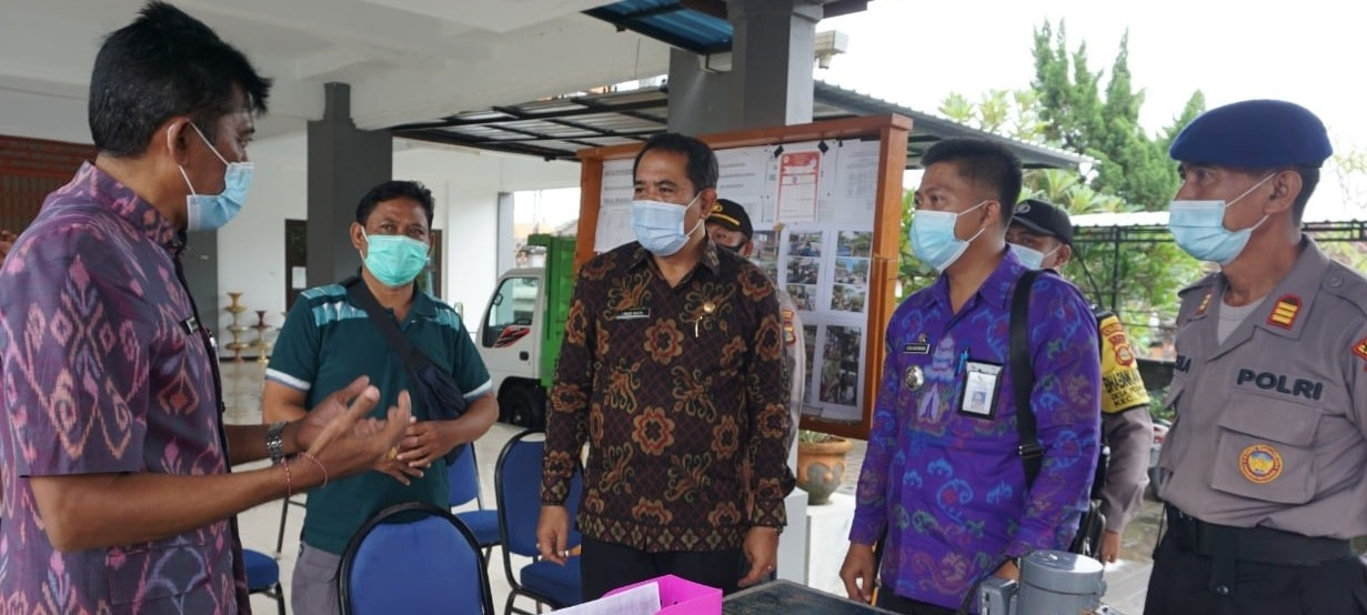 PPKM Mikro Efektif Tekan Kasus Covid-19 di Klungkung, Wabup Kasta Kembali Cek Kesiapan Satgas