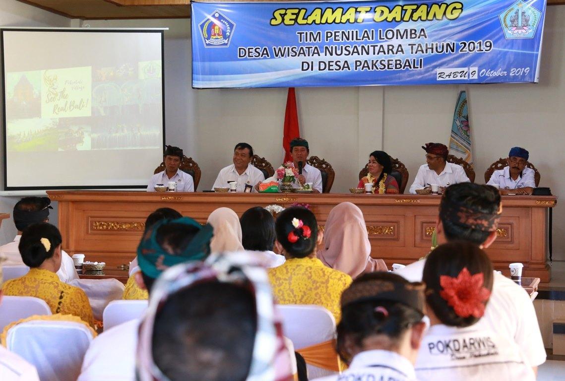 Desa Paksebali Dinilai Tim Lomba Desa Wisata Nusantara
