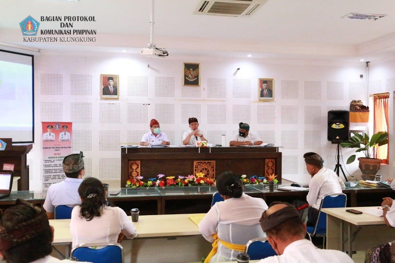 Klungkung Bahas Revisi Perda RTRW