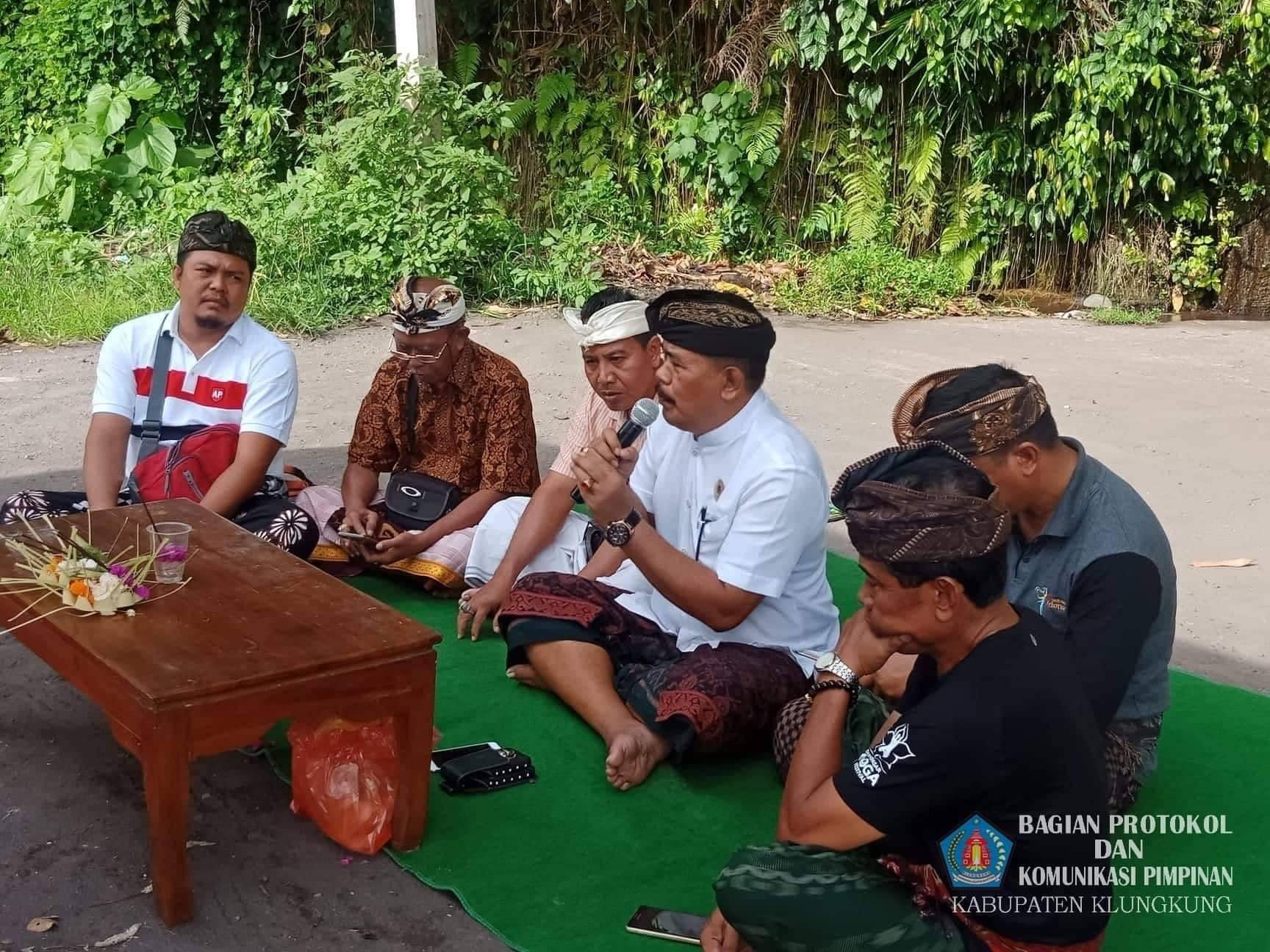 Wabup Klungkung menghadiri rapat persiapan pelaksanaan kegiatan Represmen Organisasi Perangkat Daera